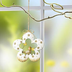"""Magnet 3Pagen Kvetinová dekorácia na zavesenie """"Sliepočka"""" vtáčik"""
