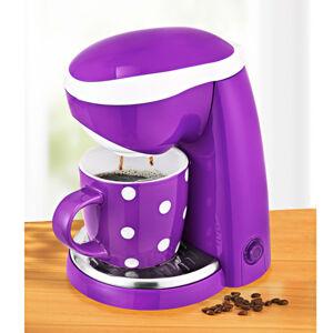 Magnet 3Pagen 1-šálkový kávovar fialová-biela