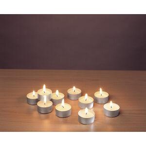 Magnet 3Pagen Čajové sviečky biela