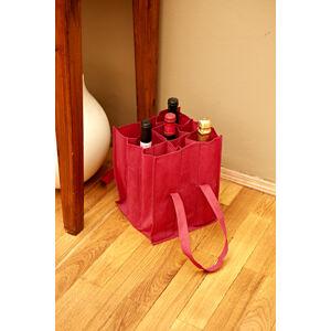Magnet 3Pagen Taška na fľaše červená