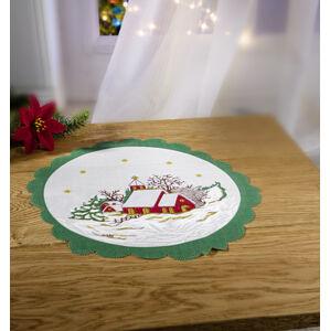 """Magnet 3Pagen Dečka """"Vianočná krajina"""" pr. 30cm"""