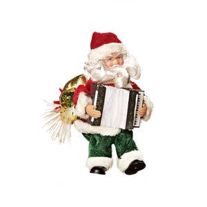 Magnet 3Pagen Santa s akordeónom