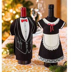 Magnet 3Pagen 2 oblečky na víno