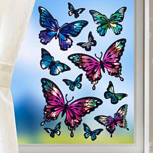 "Magnet 3Pagen 12 obrázkov na okno ""Motýle"""