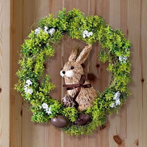 Magnet 3Pagen Kvetinový veniec so zajacom