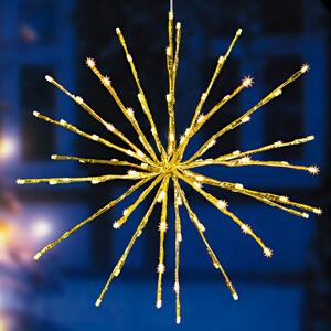 """Magnet 3Pagen LED """"Hviezda"""", zlatá"""