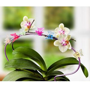 "Magnet 3Pagen 6 kvetinových klipsov ""Motýľ"""