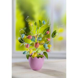 Magnet 3Pagen Veľkonočný stromček v kvetináči
