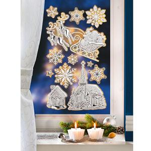 """Magnet 3Pagen 12-dielny obraz na okno """"Lesk a trblet"""""""