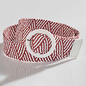 Magnet 3Pagen Strečový opasok červená/biela
