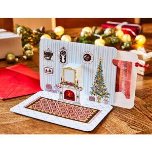 Magnet 3Pagen Vianočná darčeková karta na peniaze