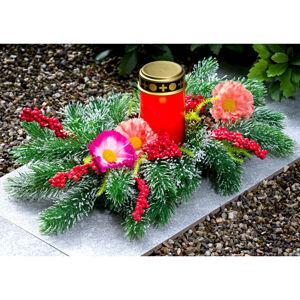 Magnet 3Pagen Dekorácia na hrob s LED sviečkou