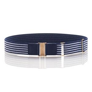 Magnet 3Pagen Strečový opasok modrá/biela