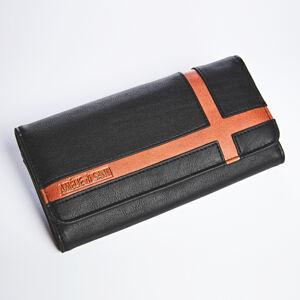 Magnet 3Pagen Peňaženka Amélie di Santi čierna/hnedá