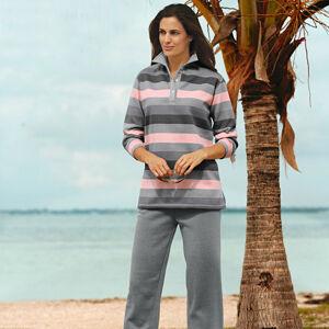 Magnet 3Pagen Tričko a nohavice pre voľný čas sivá/ružová M